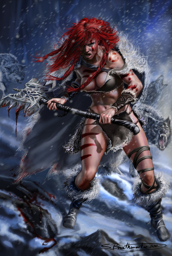 LEONA KYLE Red_sonja_by_warlordwardog-d51rfhx