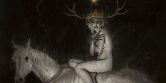 Gerald-Brom-Art-painting-illustration-The-Night-Mare-M01